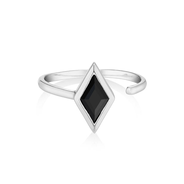 RHOMB Ring - Black Onyx