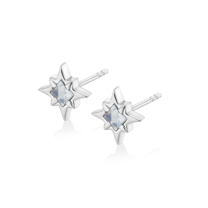 STARDUST Earrings - Moonstone
