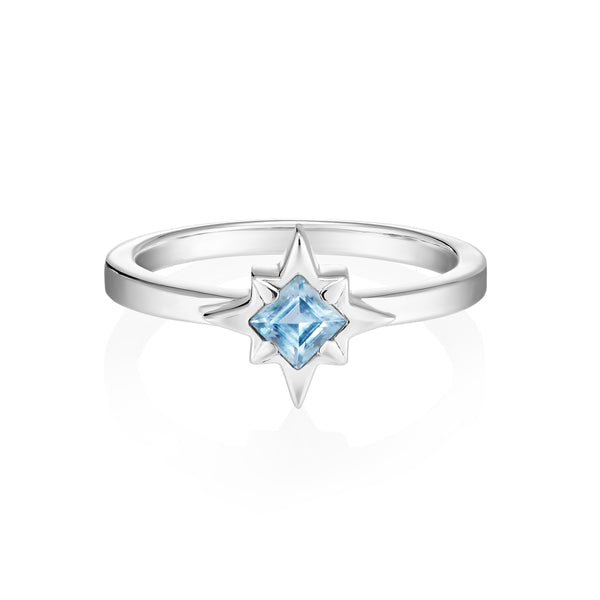 STARDUST Ring - Blue Topaz