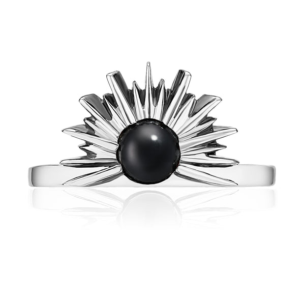 SUNSET Ring - Black Onyx