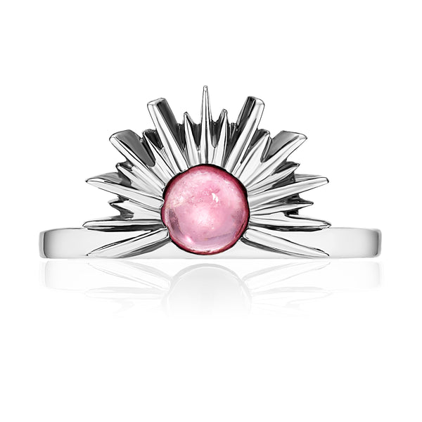 SUNSET Ring - Pink Tourmaline