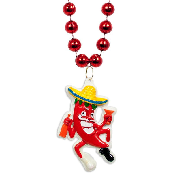 Drunk Chili Pepper Beads