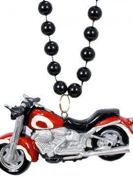 Motorcycle on Black Pearls