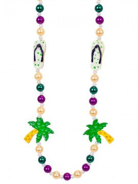 Palm Trees & Flip Flop Beads