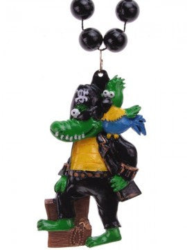 Pirate Alligator Beads