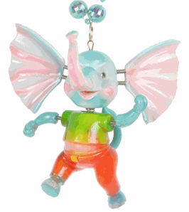 Bobble Elephant Beads