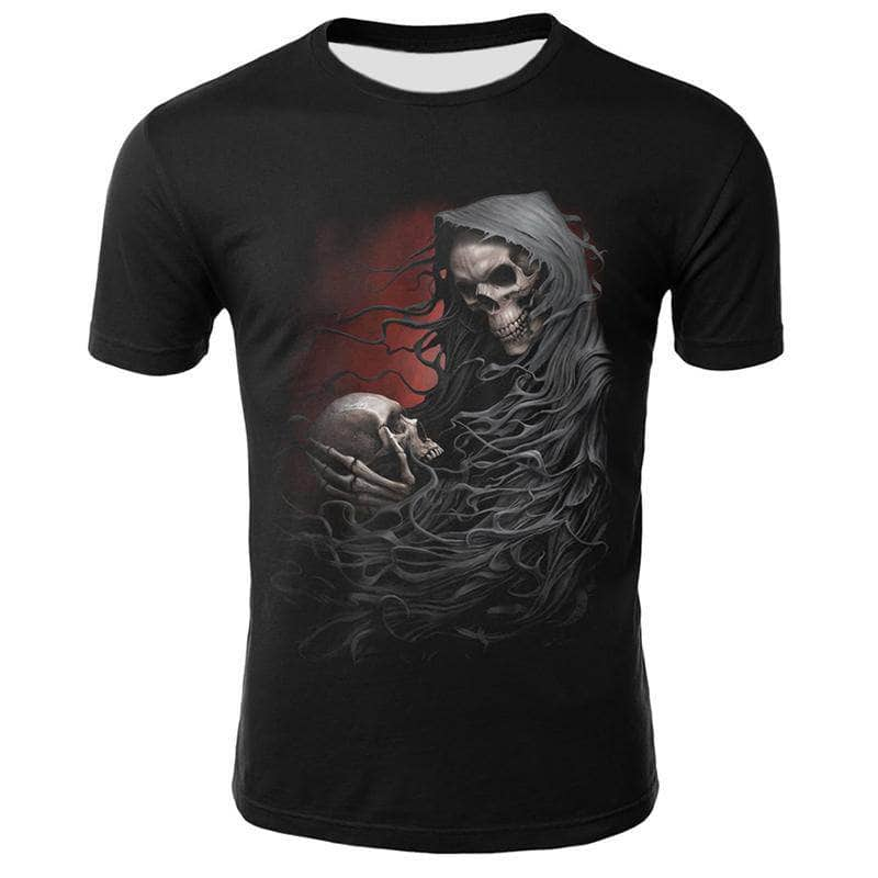 T-Shirt Tete de Mort Final Death