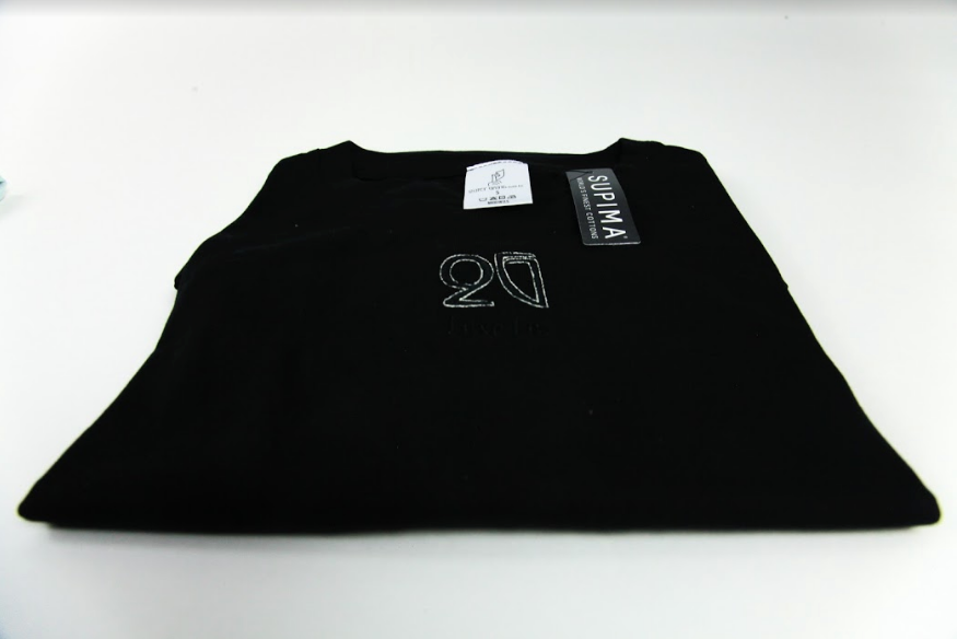 Monochrome Black QG Tee