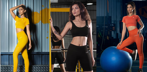 What is seamless activewear? - FLEXCHAMPS INDIA