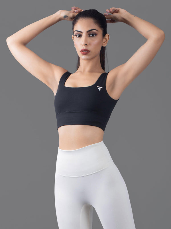 Luxe Sports Bra - Black
