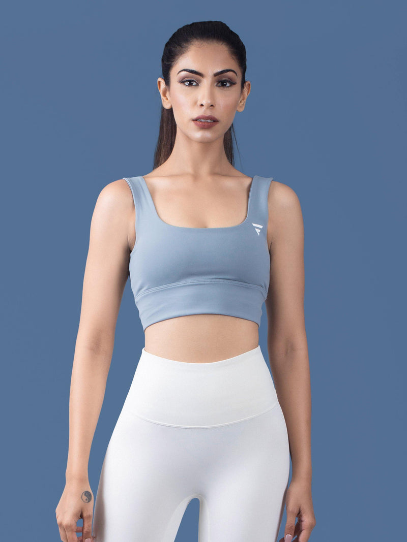 Luxe Sports Bra - Blue