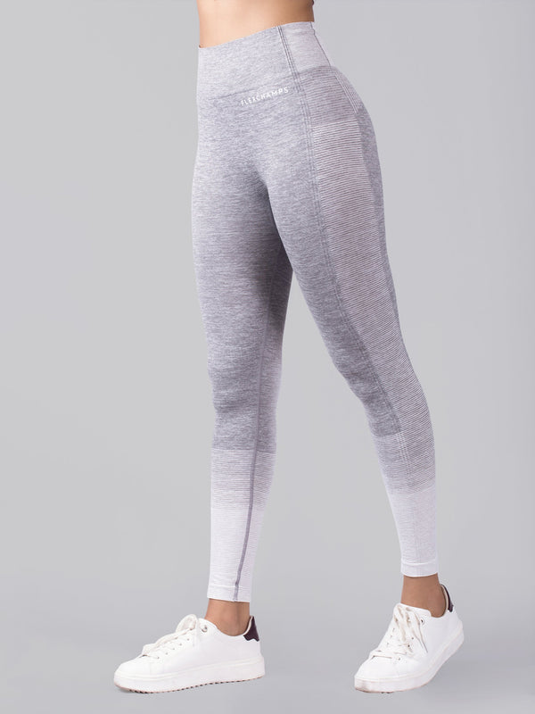 Ombré Seamless Leggings - FLEXCHAMPS INDIA