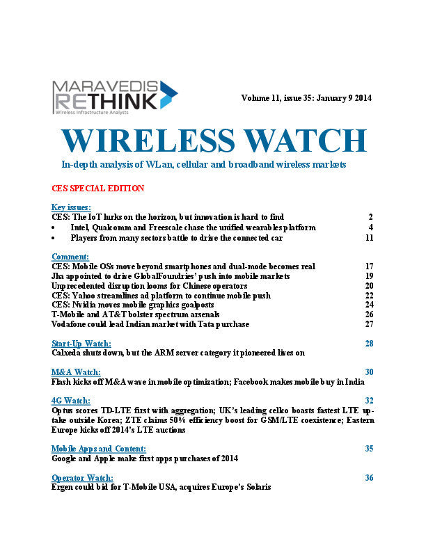 Wireless Watch 526: CES 2014 Special