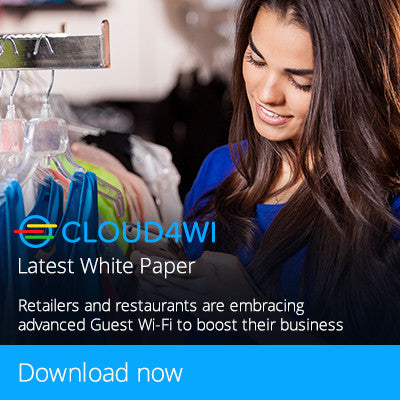 Retailers and restaurants are embracing Advanced Guest Wi-Fi to boost their business