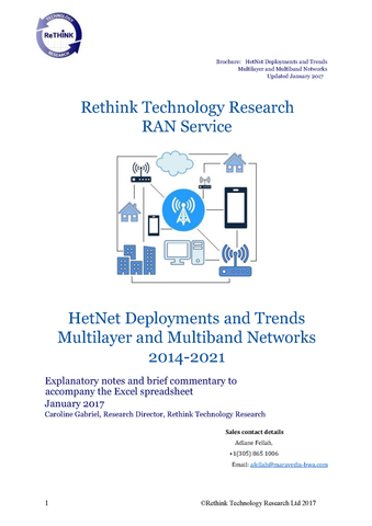 HetNet Deployments and Trends  Multilayer and Multiband Networks 2014-2021