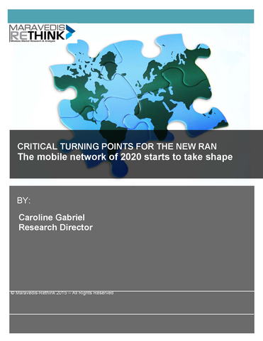 The mobile network of 2020 starts to take shape