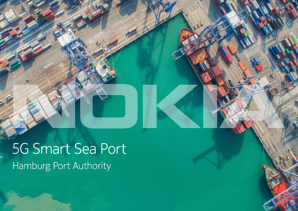5G Smart Sea Port: Hamburg Port Authority