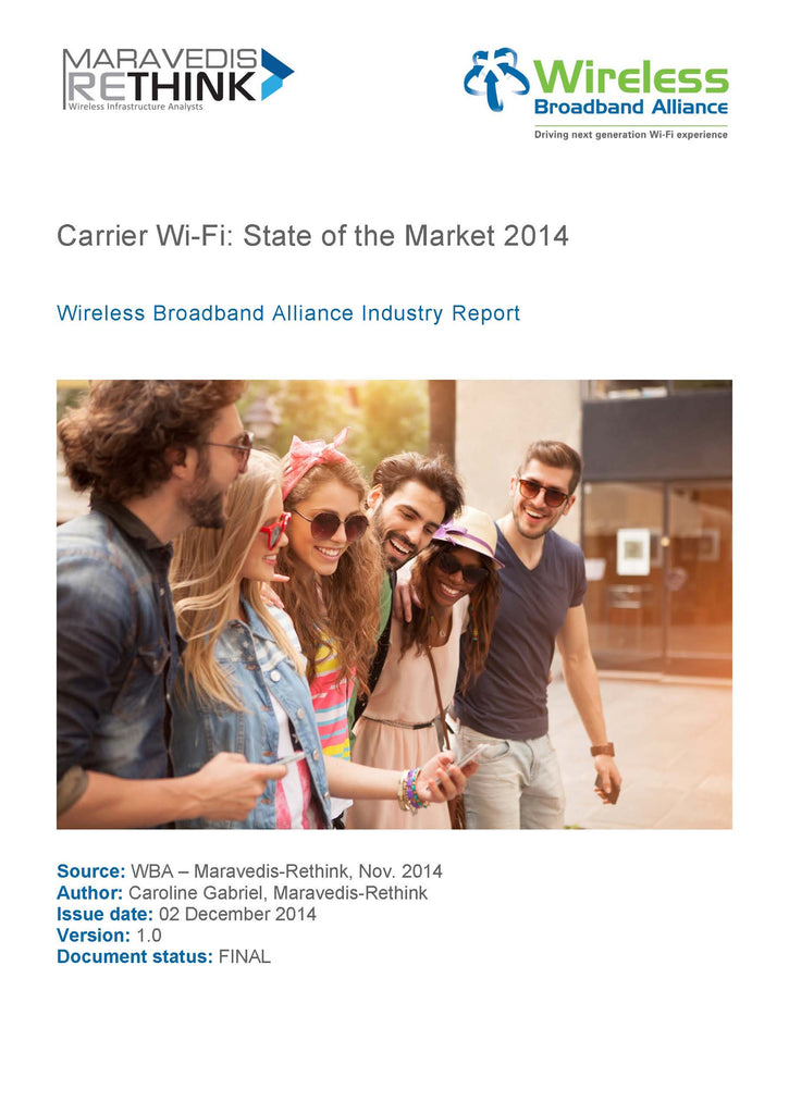 Carrier Wi-Fi: State of the Market 2014
