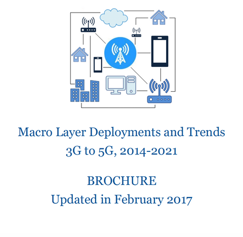 Macro layer deployments and trends 3G to 5G
