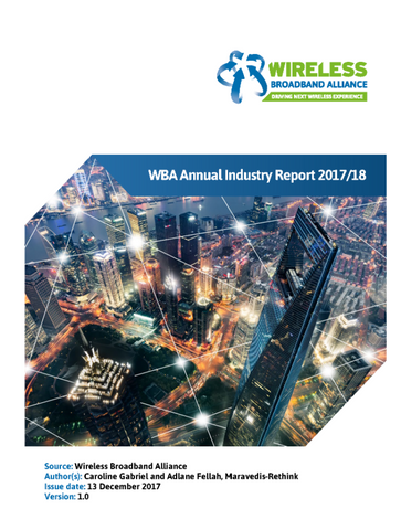 WBA Annual Industry Report 2017/18