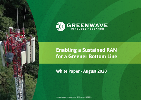 Whitepaper: Enabling a Sustained RAN for a Greener Bottom Line