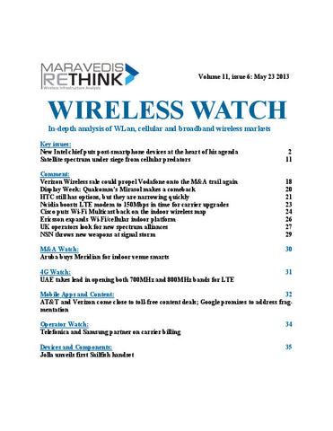 Wireless Watch 497: New Intel chief puts post-smartphone devices at the heart of his agenda