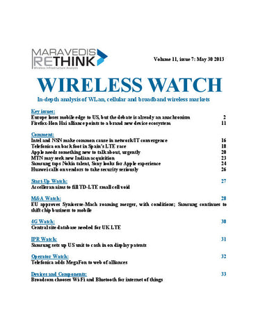 Wireless Watch 498: Europe loses mobile edge to US, but the debate is already an anachronism