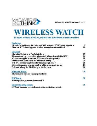 Wireless Watch 514: Big guns line up behind carrier SDN