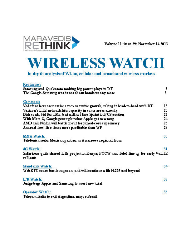 Wireless Watch 520: Vodafone extends Project Spring