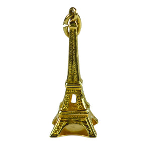 18K Yellow Gold Eiffel Tower Charm