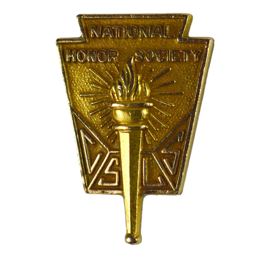 Vintage Gold Filled National Honor Society Lapel Pin