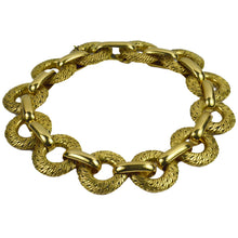 Load image into Gallery viewer, Georges L'Enfant French Yellow Gold Link Bracelet