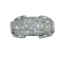 Load image into Gallery viewer, Diamond 18 Karat White Gold Bridge Ring
