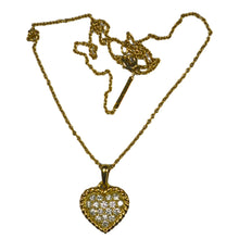 Load image into Gallery viewer, Van Cleef & Arpels Diamond Gold Heart Pendant