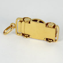 Load image into Gallery viewer, 18K Yellow Gold Saloon Car Charm Pendant