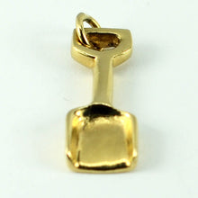 Load image into Gallery viewer, 14K Yellow Gold Spade Charm Pendant