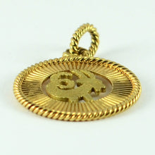 Load image into Gallery viewer, French 18K Yellow Rose Gold Zodiac Capricorn Charm Pendant