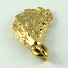 Load image into Gallery viewer, 14K Yellow Gold Oyster Shell Charm Pendant