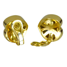 Load image into Gallery viewer, Marina B Yellow Gold Heart Ear Clip Earrings