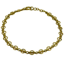 Load image into Gallery viewer, Yellow Gold Fancy Link Chain Bracelet