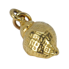 Load image into Gallery viewer, 14K Yellow Gold Whelk Shell Charm Pendant