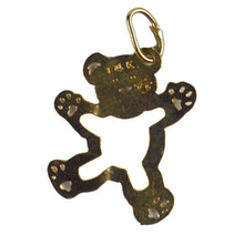 Load image into Gallery viewer, 14 Karat Yellow Gold Teddy Bear Charm Pendant