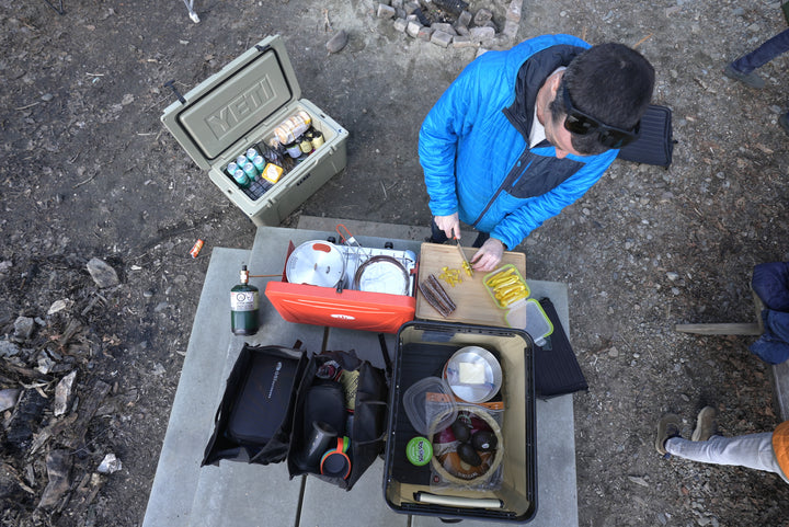 Camp Kitchen Kit  - Up Your Camping Game With The Right Gear