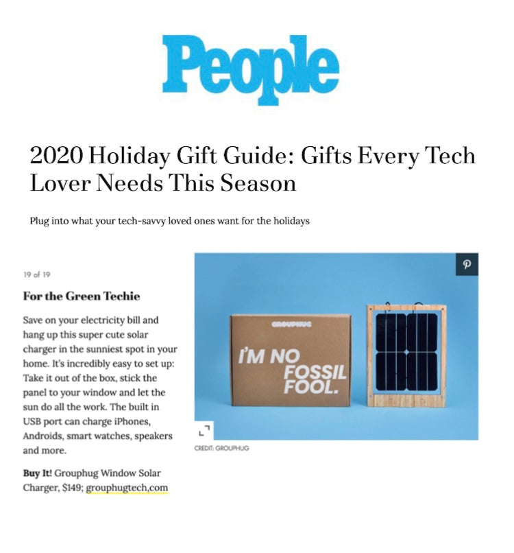 We're featured in People's Holiday Gift Guide