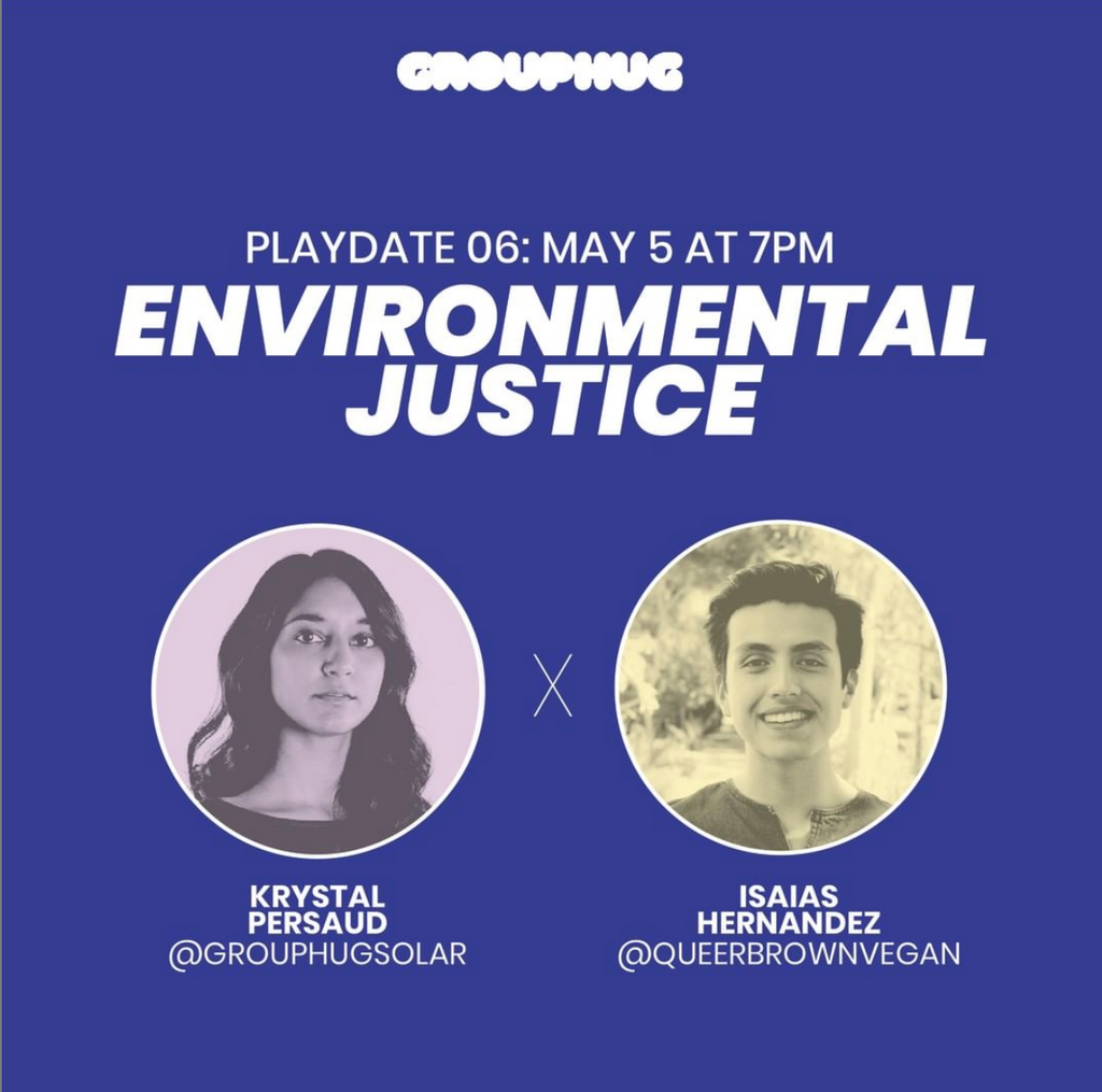 Virtual Talk on Environmental Justice