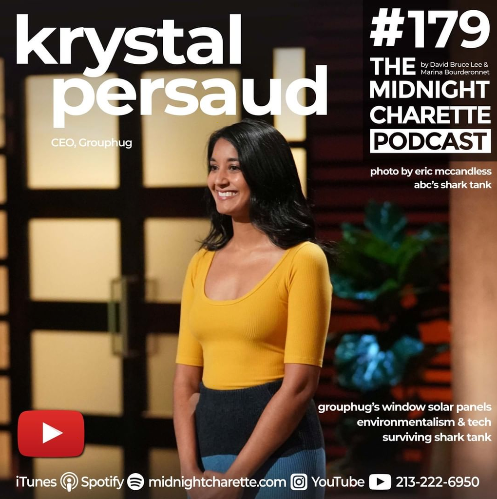 The Midnight Charette Podcast Interviews Grouphug Founder, Krystal Persaud