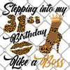 Stepping into my 31st Birthday PNG SVG