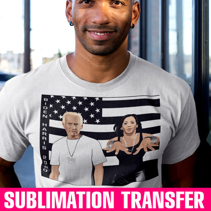 Biden Harris Stankovia Sublimation Transfer