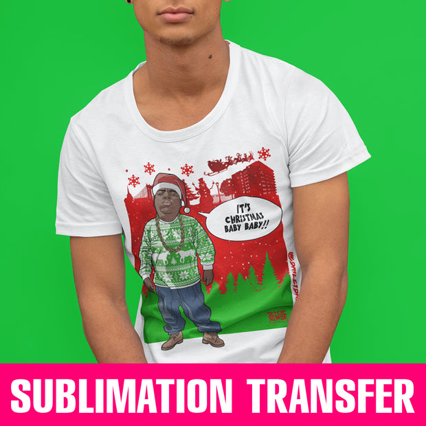 Biggie Xmas Sublimation Transfer