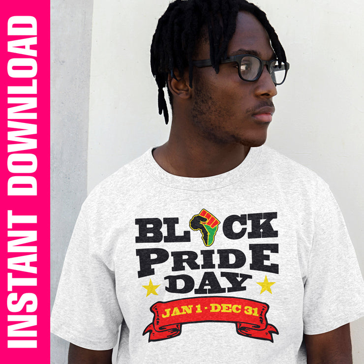 Black Pride Day PNG SVG